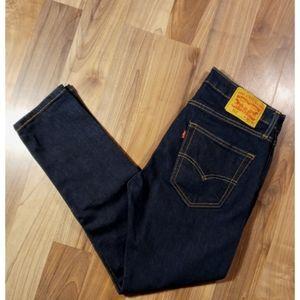 Levi's 512 32x30 dark blue slim taper jeans skinny